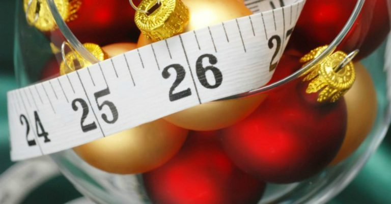 Subida de peso en épocas festivas