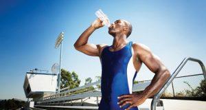 No deshidratarse al hacer deporte