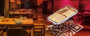 Menu digital de restaurante
