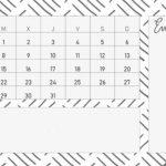 calendario para organizarte