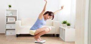 pesarse y bajar de peso